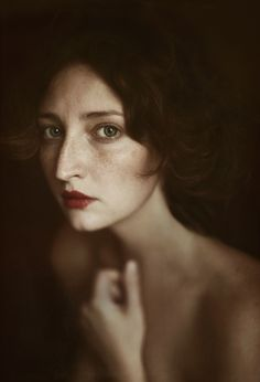 This woman looks very much like something out of Proust - Probably Oriane de Guermantes, with that nose and those eyes. by Ilina Vicktoria #photography