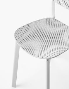 This chair is simple and sleek, but includes a fun pattern for more texture and character.