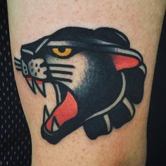 Panther tattoo. Traditional                                                                                                                                                                                 More