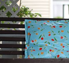 {No Sew outdoor pillow}