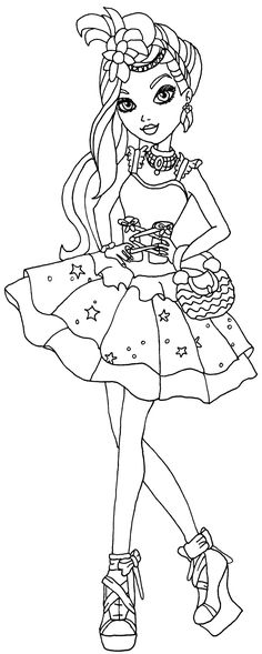 ever after high coloring pages - Google Search