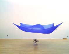 Blue Sail by Hans Haacke San Francisco Museums, Jasper Johns, Famous Art, Art Database, Museum Of Modern Art, Land Art, Public Art, Public Spaces, Conceptual Art