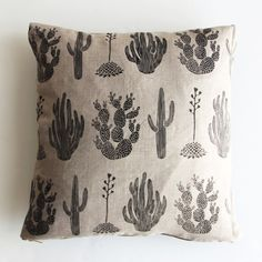 Cactus Cushion by Amelie Mancini