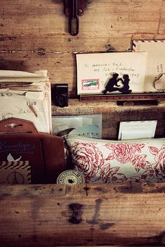 #rustic #office Chic Office Decor, Rustic Office, Office Style, Home Office, Office Designs, Office Ideas, Rustic Chic, Rustic Wood, Office Organisation