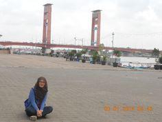 Ampera Bridge, Palembang #Indonesia