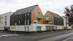 18 logements collect ifs by SERARL dB A - wood and zinc facades