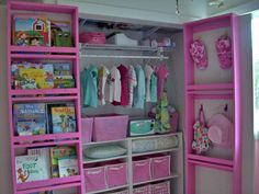 Over 50 Organizational Tips for Kids' Spaces - some awesome ideas!