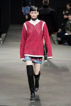 Alexander Wang Fall 2014 Ready-to-Wear Runway - Alexander Wang Ready-to-Wear Collection