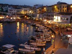 Beautiful, Enchanting, Mahon (Menorca) Spain.