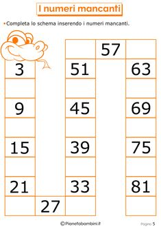 Giochi di Matematica per Bambini di 6-7 Anni da Stampare   PianetaBambini.it 1st Grade Math Worksheets, Printable Math Worksheets, Kids Education, Periodic Table, Crafts For Kids, Coding, Funny Math, Preschool Printables, Autism