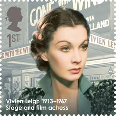 Vivien Leigh - Great Briton stamps for Royal Mail.