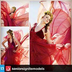 parachute dress shoot...seniors