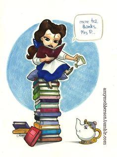 Pocket princess by amy mebberson Walt Disney, Cute Disney, Disney Magic, Disney Art, Disney Movies, Disney Characters, Disney Stuff, Funny Disney, Pocket Princess Comics
