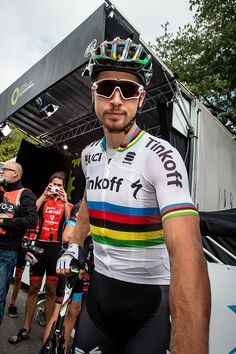 The Grand Prix Cycliste de Montreal Peter Sagan riding for Team Tinkoff leaves…