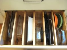 Save Space in a Small Kitchen: 20 Kitchen Items To Store Vertically ---- Would this really save space?