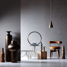Minimal industrial decor in The Age. featuring tom dixon studio, criteria collection, christopher boots, cult design au, tarlo and graham.jpg