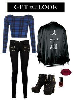 """""""Untitled #2"""" by norarosen on Polyvore featuring WearAll, Paige Denim, Smashbox, Chanel, rockerchic and rockerstyle"""