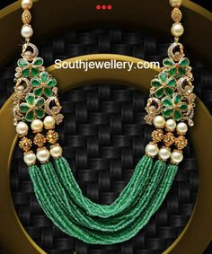 emerald_beads_strings_mala