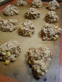 Eat cook and love: Biscuits à l'avoine façon tarte pêches crème