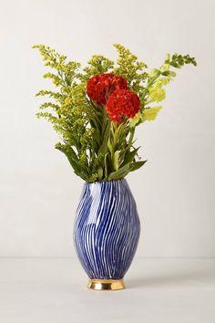 Jardin Des Plantes Vase - anthropologie.com