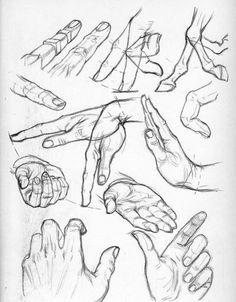 Güzel Sanatlar Sanat Formları: El çizimleri - El Eskizleri