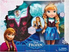 Giochi Preziosi Disney Frozen Anna - Bambola e travestimento Bambola per bambina: confronta i prezzi e compara le offerte su idealo.it