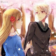 Prussia & Hungary   Hetalia (ヘタリア) #anime