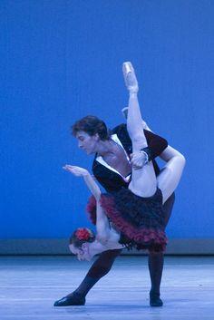 Julio Bocca y Eleonora Cassano en el Ballet Argentino