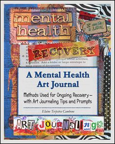 Excellent resource for Art Journaling for mental health - 32 page PDF book