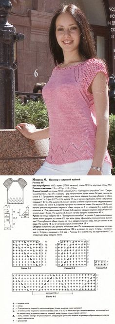 Пуловер с ажурной каймой спицами. Как связать кофточку спицами |