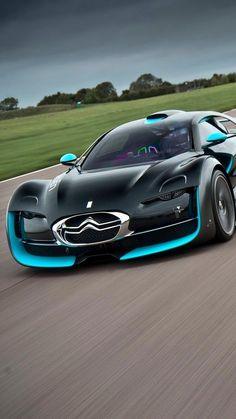 Marcha más Citroen Survolt supercars coches rápidos