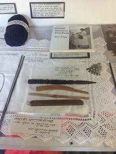 Gansey knitting tools
