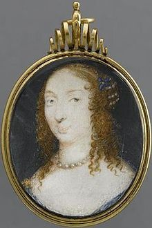 Marie de Hautefort (1616 - 1691). Love interest of Louis XIII. He first noticed her in 1630 when she was a maid of honor to his mother. She became haughty and lost the king's favor between 1635 to 1637.