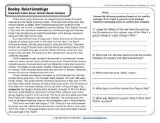 Rocky Relationships | Teacher Stuff | Pinterest | Comprehension ...