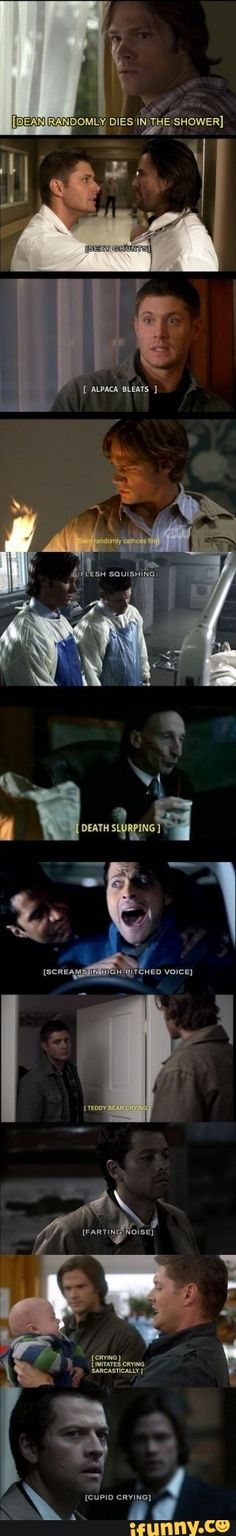 What about the best [Dean dies in the shower]?