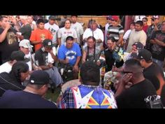 Iron Horse singers fort hall pow wow 2012 grand entry song - YouTube