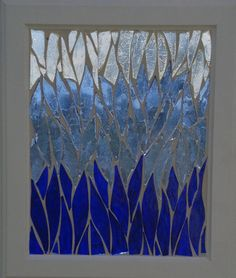 Hey, I found this really awesome Etsy listing at https://www.etsy.com/listing/250278709/blue-ombre-mosaic-abstract-stained-glass