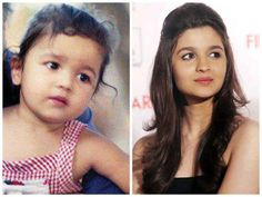 This Girl is full of Cuteness ^_^ Hit (y) for Cutie Alia :* ♥ Hindi Actress, Bollywood Actress, Indian Actresses, Actors & Actresses, Baby Boy Christening Outfit, Alia Bhatt Cute, Alia And Varun, Surbhi Chandna, Childhood Photos
