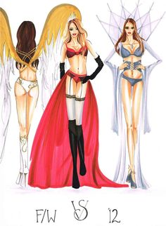 Inspired by Victoria's Secret Fashion Show