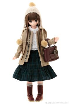 EX Cute Koron Kuma Doll - Azone International. Oh, so beary, beary cute! Love It! #azone #doll