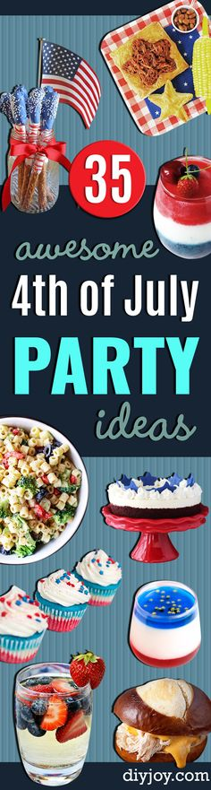 1000 images about birthday party fun on pinterest for Fourth of july party dessert ideas