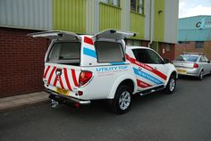 Autostyling's new Mitsubishi L200 Sign Written Utility Top