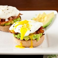 #123951 - Avocado Eggs Benedict By TasteSpotting