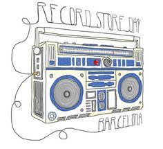 #recordstoredayBCN