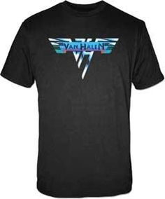 Van Halen - 1978 Vintage Logo T-Shirt $16.95