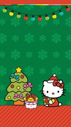 The breathtaking Cute Walls Hello Kitty Christmas Wallpaper Set Pertaining To The Awesome Hello Kitty Wallpaper Christmas photograph below, is View Hello Kitty Wallpaper Hd, My Melody Wallpaper, Hello Kitty Backgrounds, Sanrio Wallpaper, Friends Wallpaper, Cute Wallpaper Backgrounds, Cartoon Wallpaper, Cute Wallpapers, Winter Wallpapers