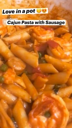 Macaroni Recipes, Pasta Recipes, Shrimp Recipes For Dinner, Creole Recipes, How To Cook Pork, Food Cravings, Tasty Dishes, Mexican Food Recipes, Flan Cake