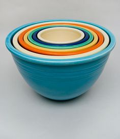 Vintage Fiesta Pottery For Sale: Alphabetical Lisiting of All Vintage Homer Laughlin Fiesta`ware Pieces