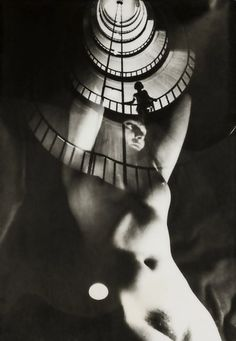 Franz Roh (1890 - 1965) • Akt im Treppenhaus, 1922–1928