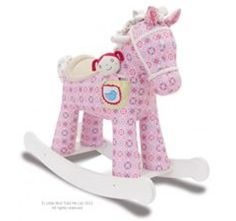Little Bird Told Me Pixie and Fluff Rocking Horse (50cm)